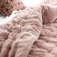 Velvet Comforter Dusky Pink