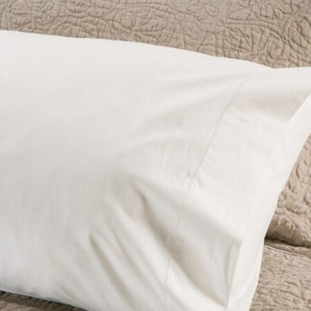 Italian Cotton AJOUR Pillowcases Hemstitch