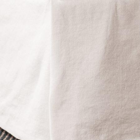 White Linen Valance