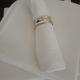 Pure Linen Table Napkins WHITE