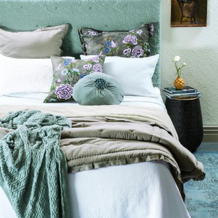 White Matelasse Bedspread