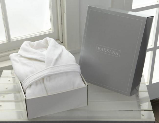 White Hotel Robe