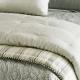 Classic Stripe Linen Comforter