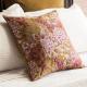 Floral Antique Gold Cushion - Giardino