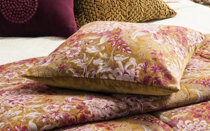 Floral ANTIQUE GOLD DUVET COMFORTER Giardino
