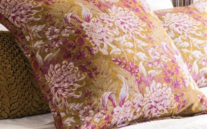Floral Antique Gold Eurocase - Giardino