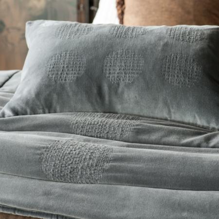 Slate Velvet Comforter AMBIENTE