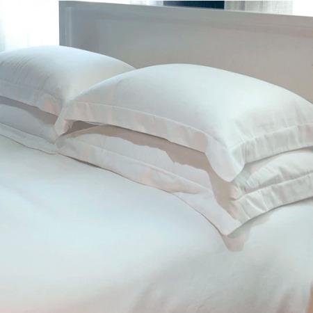 Egyptian Cotton Pillowcases/Euros/Lodge 100% PURE Classic