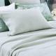 SOTTOBOSCO PALE OCEAN Bedspread   Fine Weave