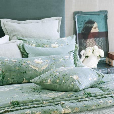 SWAN Comforter CIGNA DUCK EGG