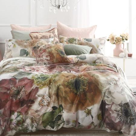 Floral Duvet Cover Set ARLETTE