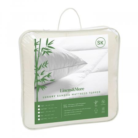 Bamboo Mattress Topper