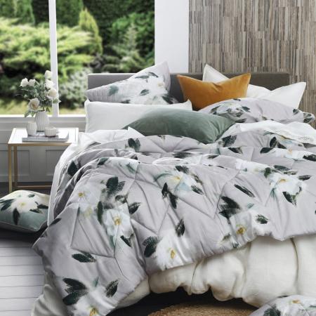 Floral Quilted Comforter Set ALBA