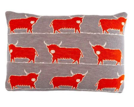 DOUGAL Knitted Cushion | Handmade UK