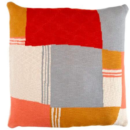 Knitted Cushion REGO | Handmade UK