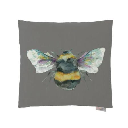 BEE Cushion SLATE | Handmade UK