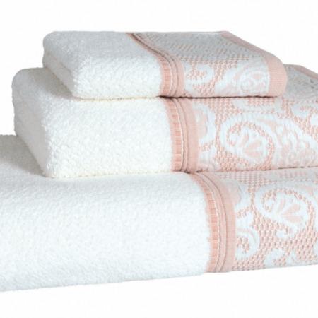 Milano Blush Bath Towels - Woven in Portugal