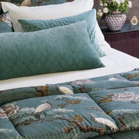 KUREN OCEAN Comforter   Japanese Crane