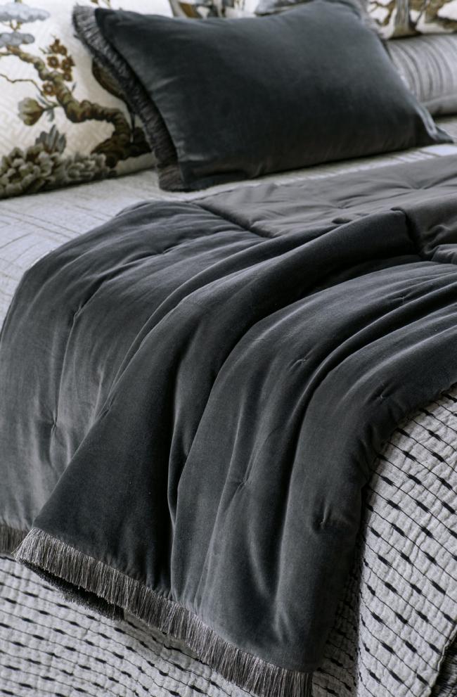 VELVET Comforter TRAMONTO Graphite