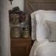 WHITE Bedspread Set LANTERN