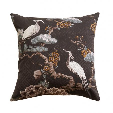 Kuren CAROB Cushion | Japanese Crane