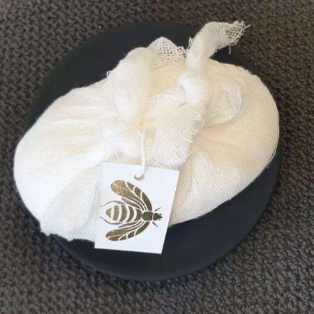 French Bee Soap Fleur de Coton   Muslin Wrap