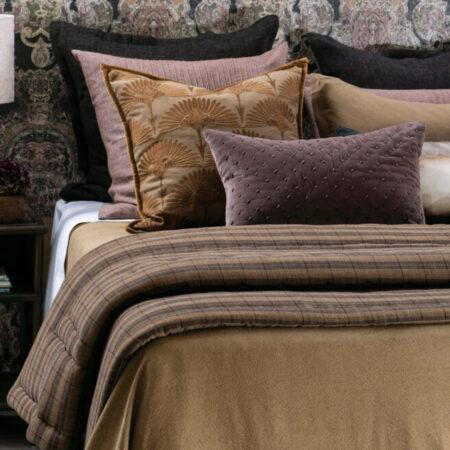 Cotton Bedspread Hazel/Gold CELA