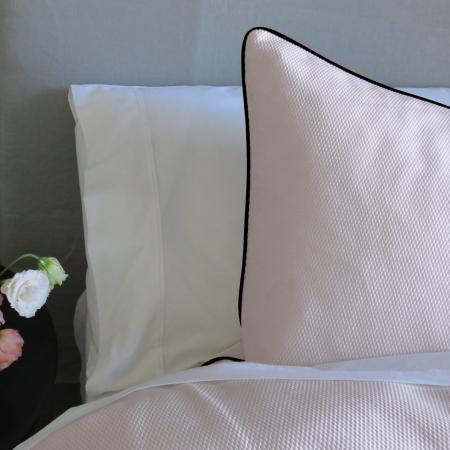Cotton Duvet Cover PINK PIQUE