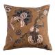 Capriccio Copper Cushion | Velvet Reverse