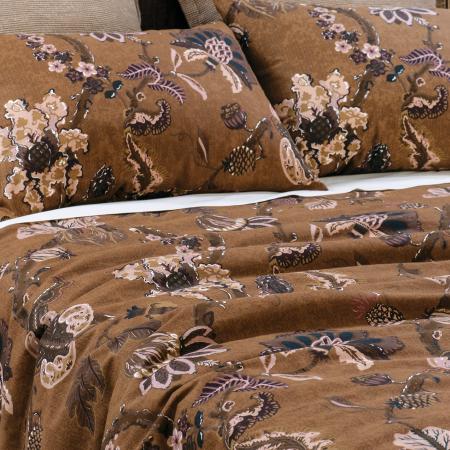 Capriccio Copper Duvet Cover Set