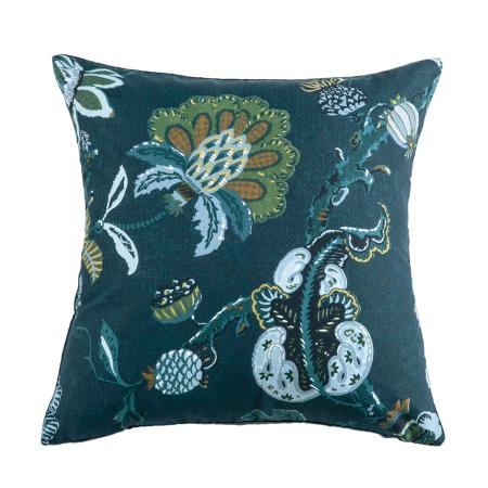 capriccio prussian blue cushion