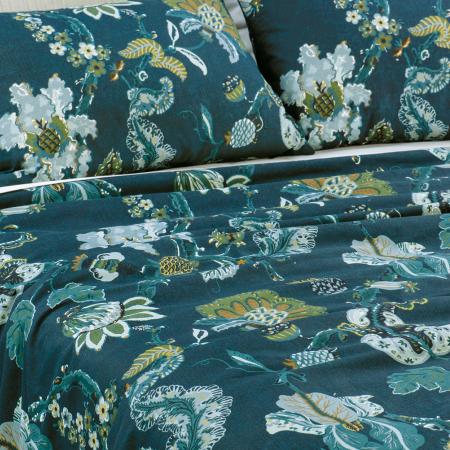 Capriccio Prussian Blue Duvet Cover Set