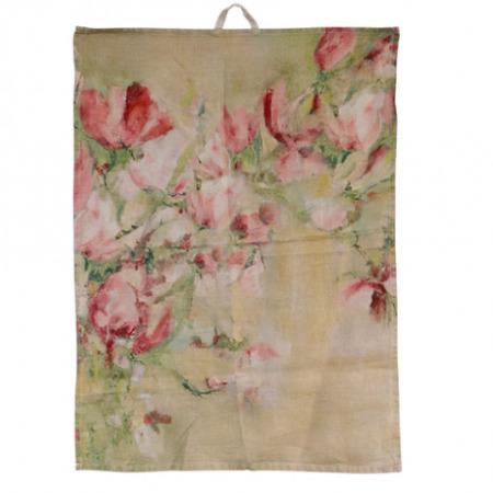 Linen Tea Towel MAGNOLIA LIMONE