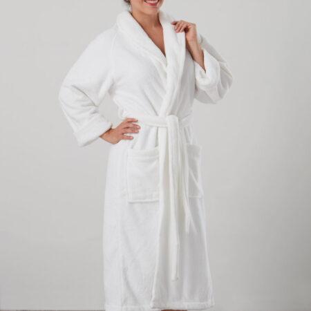 Women's Cosy Robe MANOR WHITE