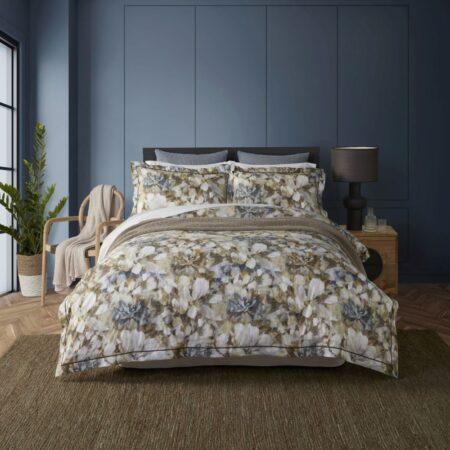 Floral Duvet Cover MONTREAL | Cotton Percale