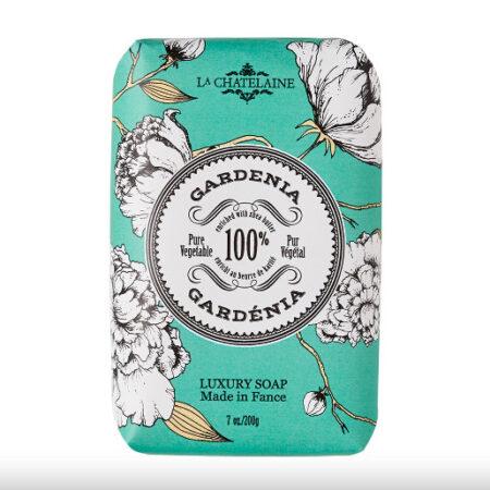 French Soap La Chatelaine GARDENIA