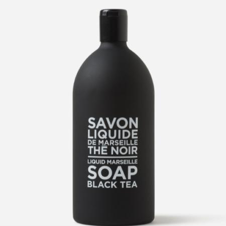 Black & White Liquid Marseilles Soap BLACK TEA Refill
