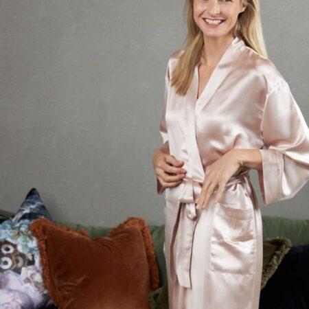 Silk Robe BLUSH