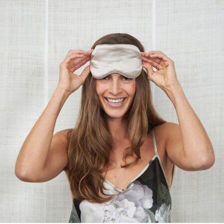 Silk Eye Mask CHAMPAGNE