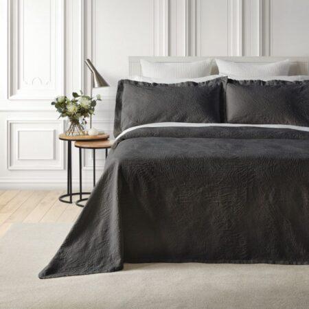 Cotton Bedspread DUNES ASH