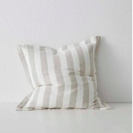 Striped Linen Cushion Luca Linen