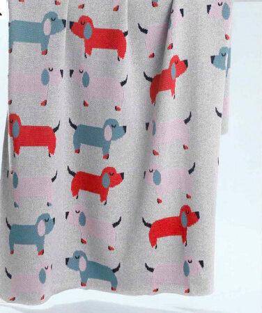 Cotton Baby Blanket DOGGIES